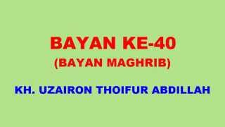 040 Bayan KH Uzairon TA Download Video Youtube|mp3