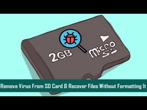 Remove Virus From SD Card Without Formatting || RANA IT TIPS