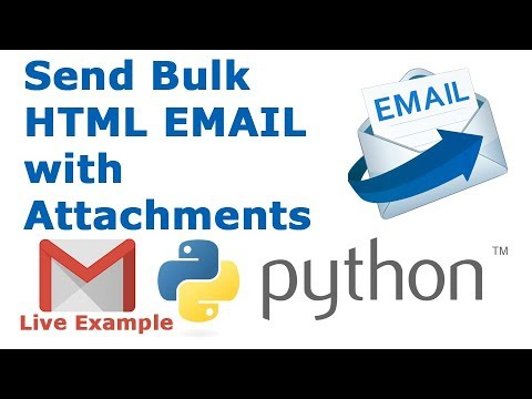 How To Send HTML Email With Attachments Using Python [Live Example]