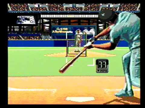 Sega Genesis World Series Baseball Game (Intro)