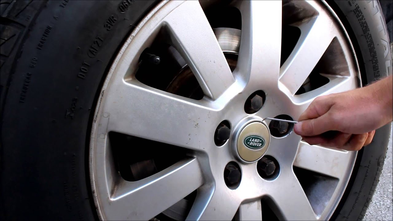 Land Rover Wheel Center Cap Replacement Youtube