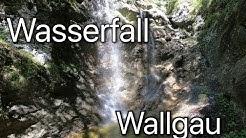 Bärenhöle und Wasserfall Wallgau