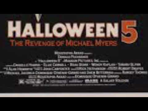 Halloween 5 Alan Howarth~ original expanded motion picture soundtrack