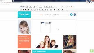Creación de Páginas Web sin Programación - Bloque Social