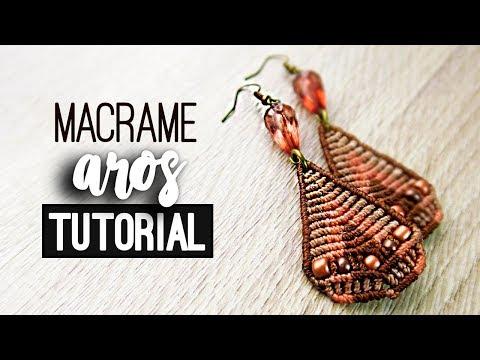 14d2b76bbffc Aros triangulares » 💡 tutorial   como hacer   diy ○ Earrings #102 ...