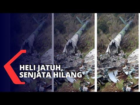 Heli Jatuh Di Papua, 11 Senjata Api Milik TNI Hilang Di TKP