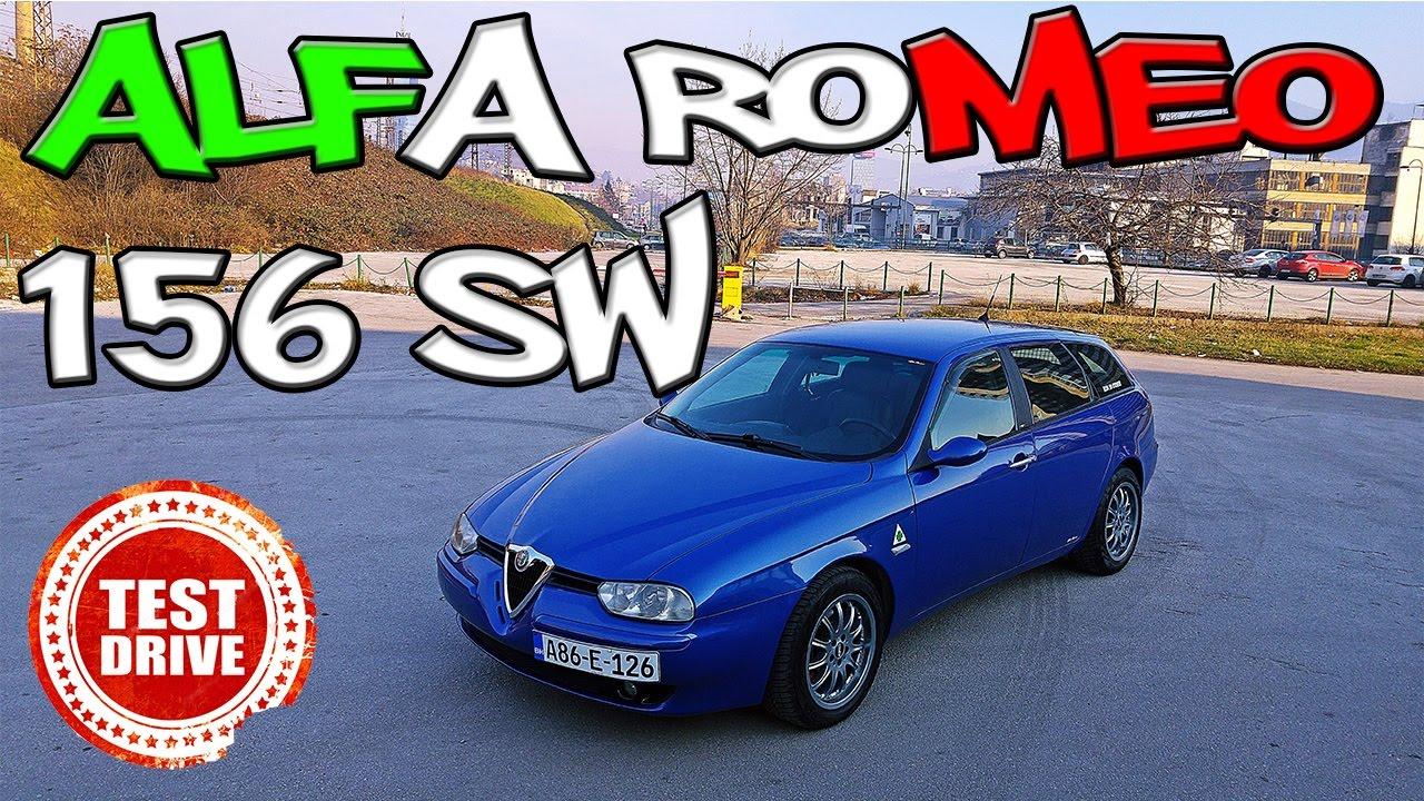Italijanski Zavodnik Alfa Romeo 156 Sw 24 Jtd 2003 Test Polovnih Vozila