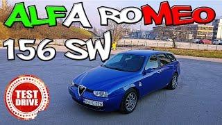 ITALIJANSKI ZAVODNIK - Alfa Romeo 156 SW 2.4 JTD 2003. - TEST POLOVNIH VOZILA