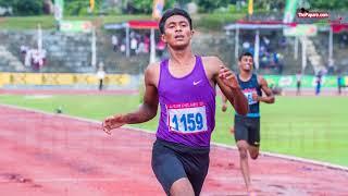 AISG 2017  U 20 200M winner Mohamed safan intreview