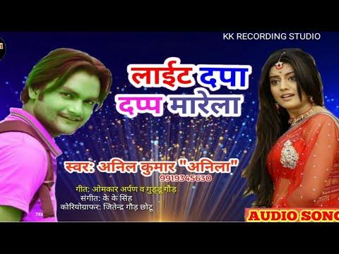 लाईट दपा दप्पा मारेला-Light Dapa Dapp Marela | Anil Kumar Anila | Superhit New Song 2019 | फुल डीजे