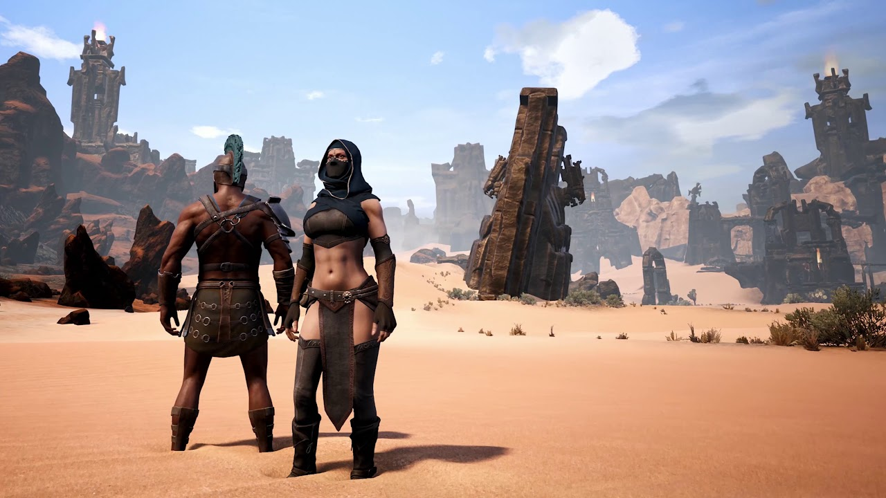 Latest Conan Exiles Video Shows New Locations Ahead of May 8th Launch