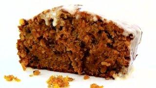 Простой морковный пирог с глазурью из сливочного сыра. Невероятно вкусный.