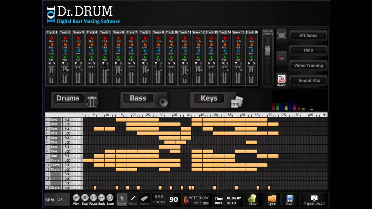 dr drum beat maker software dr drum vibration inc download make sick beats youtube. Black Bedroom Furniture Sets. Home Design Ideas
