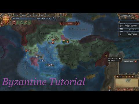 EU4 Byzantine Tutorial, Ep1