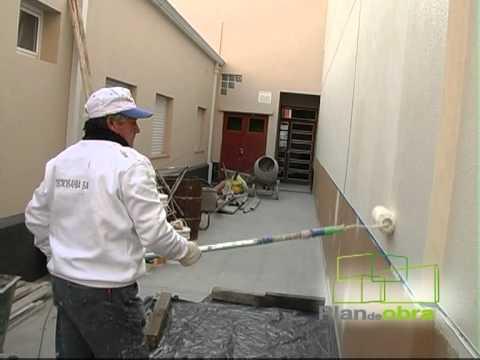Plan de obra revestimiento pl stico soluci n para paredes - Revestimientos de paredes ...