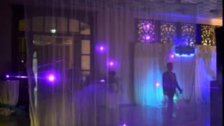 Лазерное шоу на свадьбу Павлодар Крендель Банкет холл