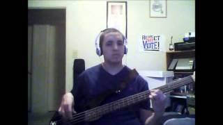 "Asher Roth ""Lark On My Go-Kart"" [Bass Cover]"