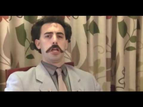 Borat - King in the castle