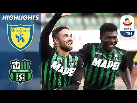 Chievo 0-2 Sassuolo | Ten-Man Chievo Struggle As Di Francesco Strikes First | Serie A