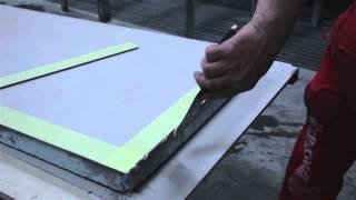 FMG Maxfine Herstellung Küchenarbeitsplatte