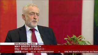 Jeremy Corbyn Responds to Prime Minister