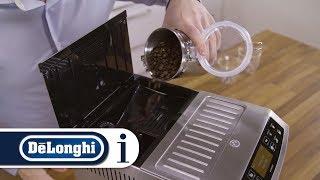 How to make coffee using coffee beans in your De'Longhi PrimaDonna S Evo ECAM510.55.M coffee machine