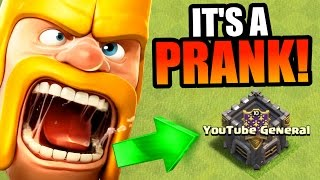HOW TO PRANK YOUR CLAN IN CLASH OF CLANS!! - WILL IT WORK!?!