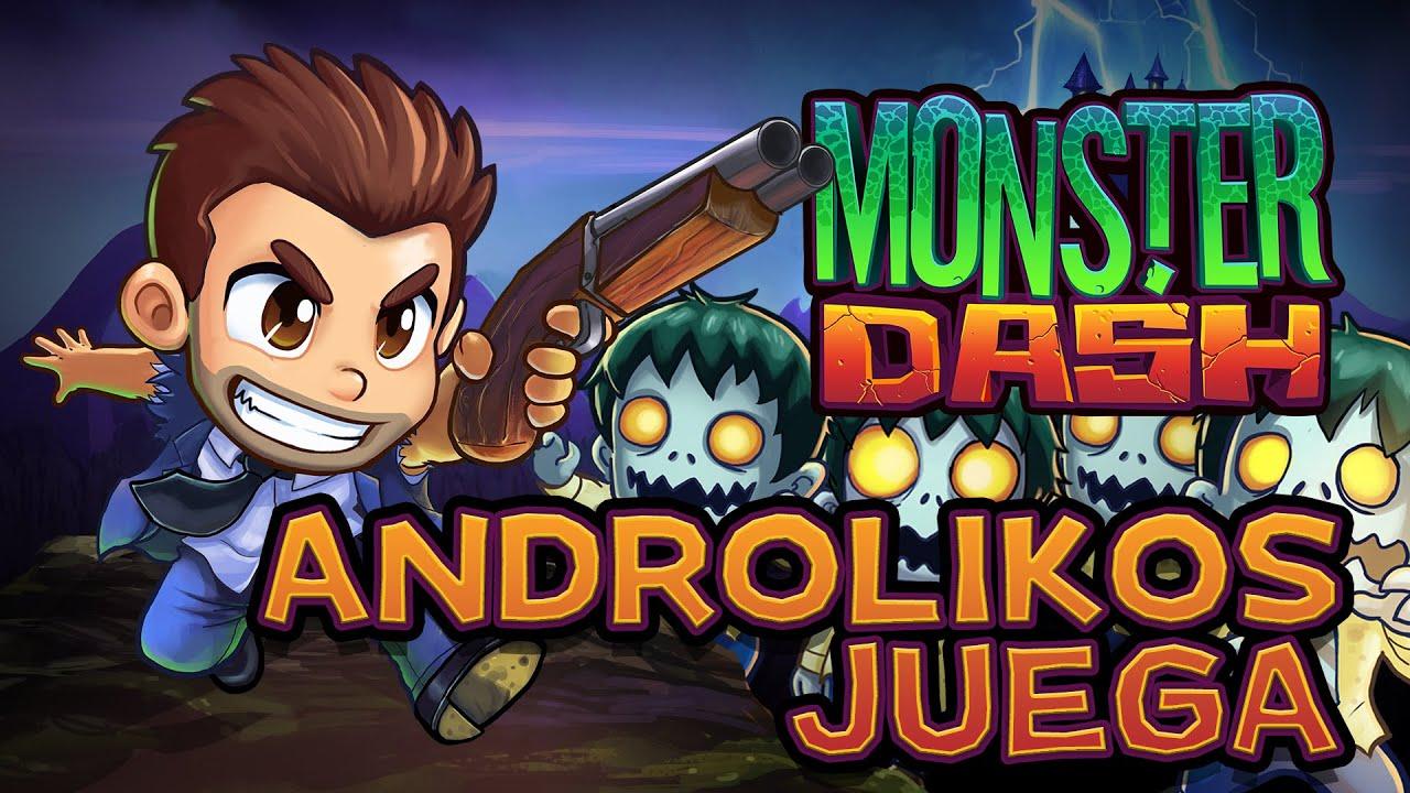 """Monster Dash 👺😈 """"De Entre Los Muertos"""" 💀 Androlikos Juega (Castellano)"""