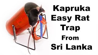 Kapruka Easy Rat Trap From Sri Lanka - Made From Recycled Garbage. Mousetrap Monday