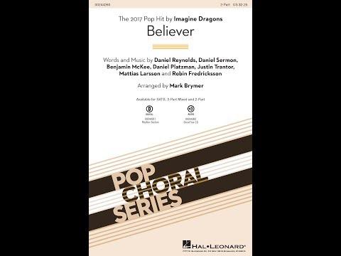 Believer 2Part  Arranged  Mark Brymer