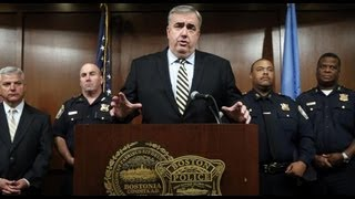 Boston Police Commissioner Edward Davis stepping down