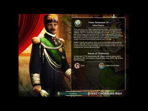 Kingdom of Italy - Victor Emanuelle III | War