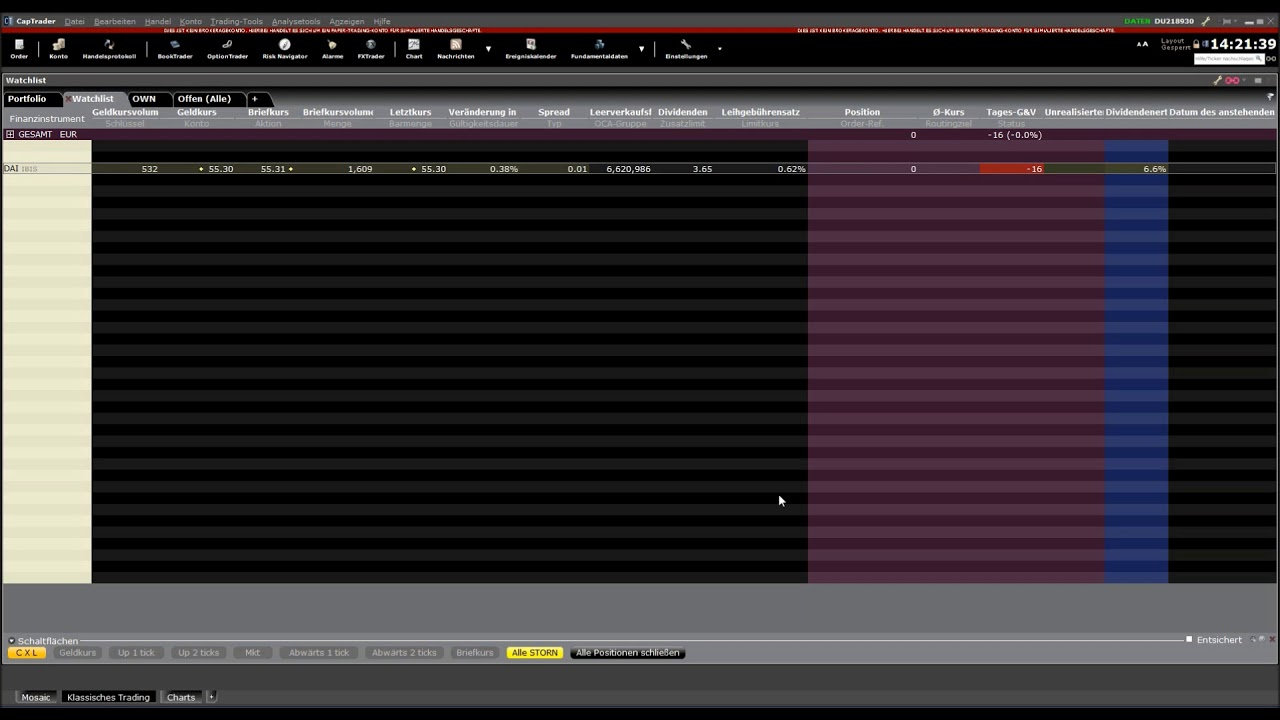 Trader Workstation | Interactive Brokers Luxembourg SARL