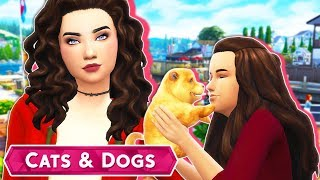LITTLE PUPPY GROWS UP!😭😍💕 // The Sims 4 | Cats & Dogs #4