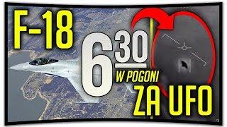 POŚCIG F-18 ZA UFO!