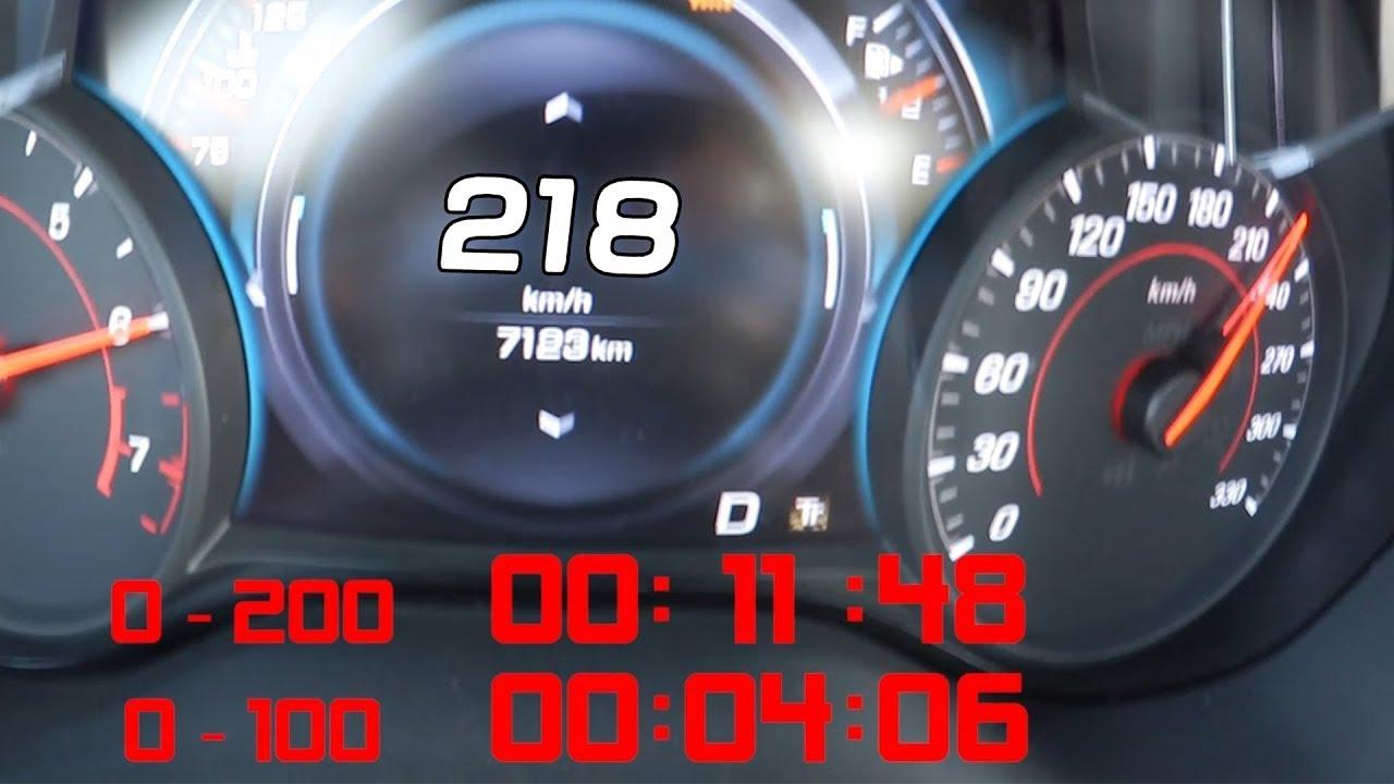 تسارع  و صوت شيفروليه كمارو زد ال1 2018 Chevrolet Camaro ZL1 2018 Acceleration