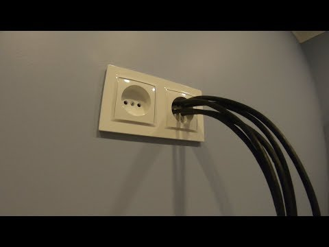 #ремонтквартир#интернетпровод Лайф-хак вывод интернет провода на роутер