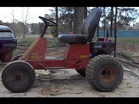 Off Road Lawn Mower Conversion Stretched And Widened