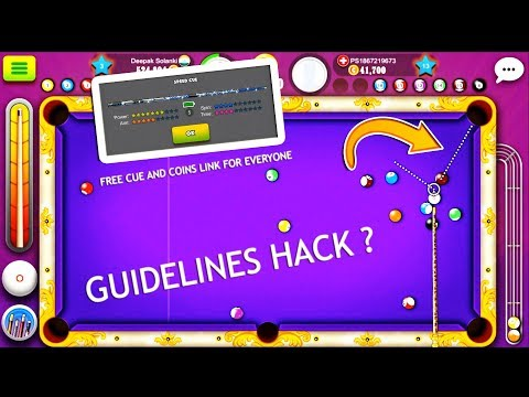 is This Cue Have Guideline Hack By itself ?  -Free Coins- English Commentary