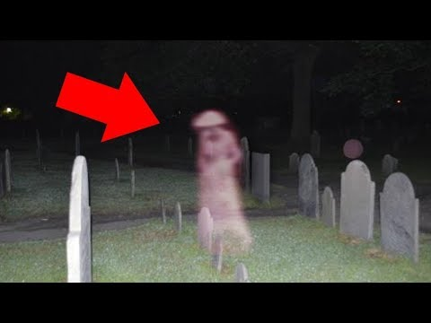 Top 10 Scary & Mysterious Graveyard Sightings Caught on Tape - Real Ghost Sightings