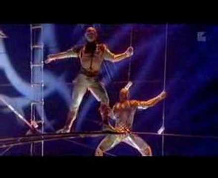 Aerial High Bar Act - ALEGRIA (Cirque du Soleil)