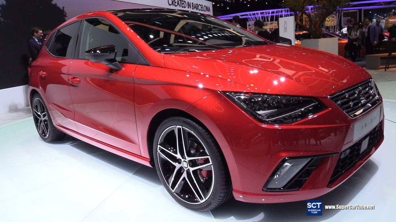 2018 seat ibiza fr exterior and interior walkaround debut 2017 geneva motor show youtube. Black Bedroom Furniture Sets. Home Design Ideas