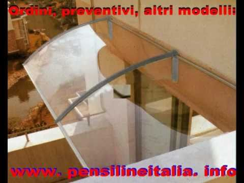 Pensilina Tettoia In Policarbonato Plexiglas Veranda Cappottina