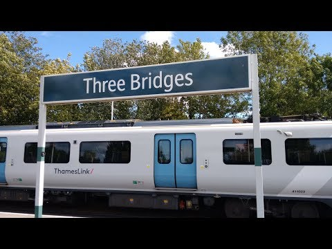 Full Journey on Thameslink (Class 700) from Bedford to Three Bridges