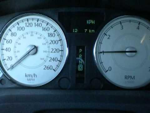Chrysler 300c 3.0 CRD 0-100 6.96 sec.