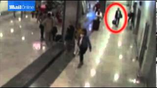 FOOTAGE RELEASED of baby being 'trafficked' at Istanbul Airport