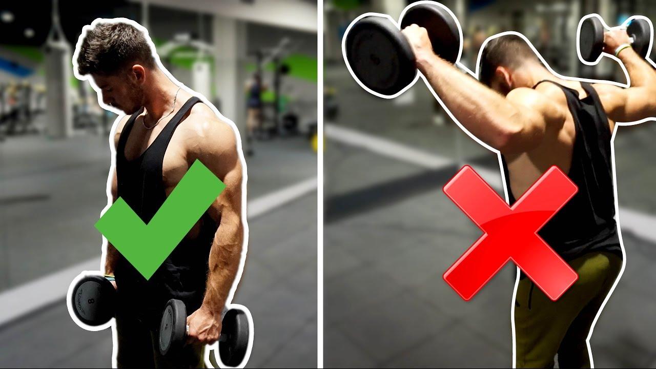 Ejercicios de hombros para gimnasio