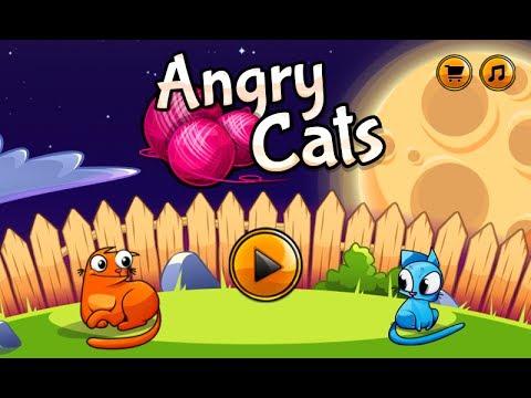 Angry Cats игра на Андроид