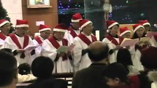 北投聖高隆邦堂2010聖誕晚會聖詠團演唱讚美卡農曲