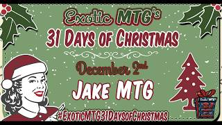 Exotic's MTG Christmas Giveaway